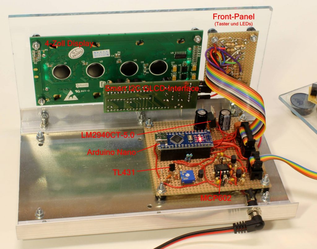 Rückseite des Gewitter Monitor v2