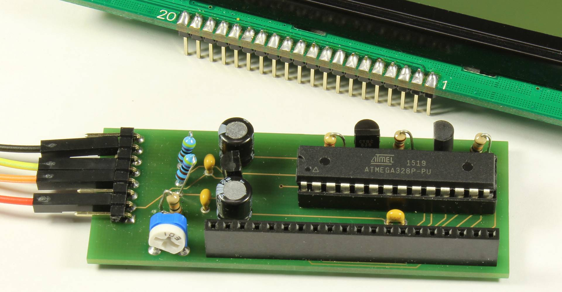 GLCD I2C Interface Modul