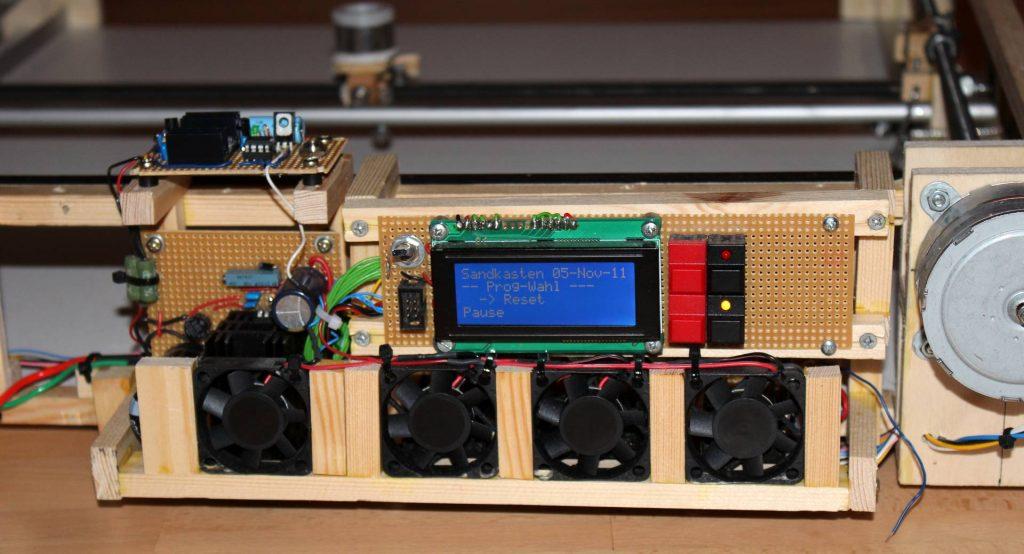 Elektronik des Sanplotters