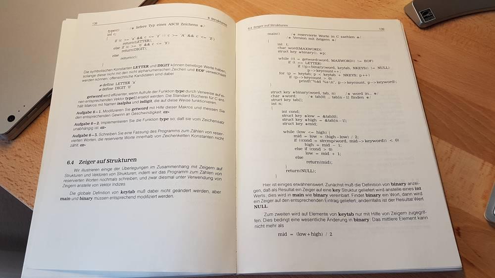 Kernighan & Ritchie, Ausgabe 1986