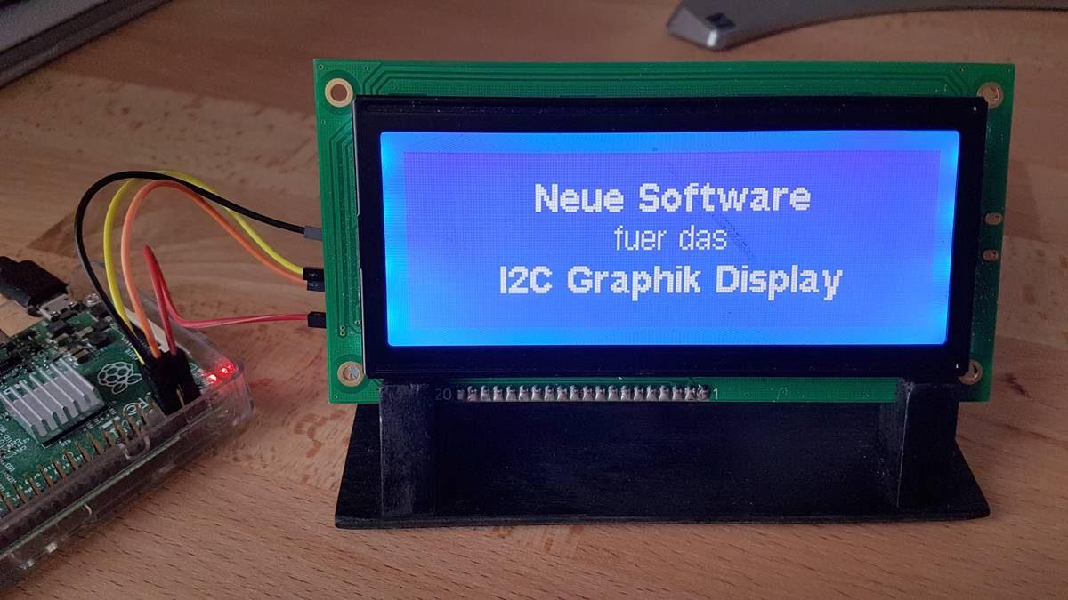 Pointer auf Funktionen: Neue Software für das Graphik-Display