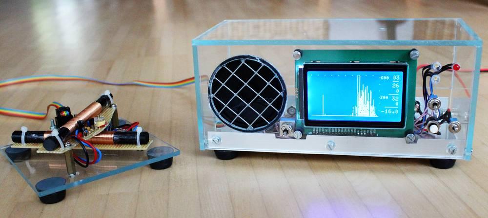 Gewitter-Monitor mit graphischer Anzeige