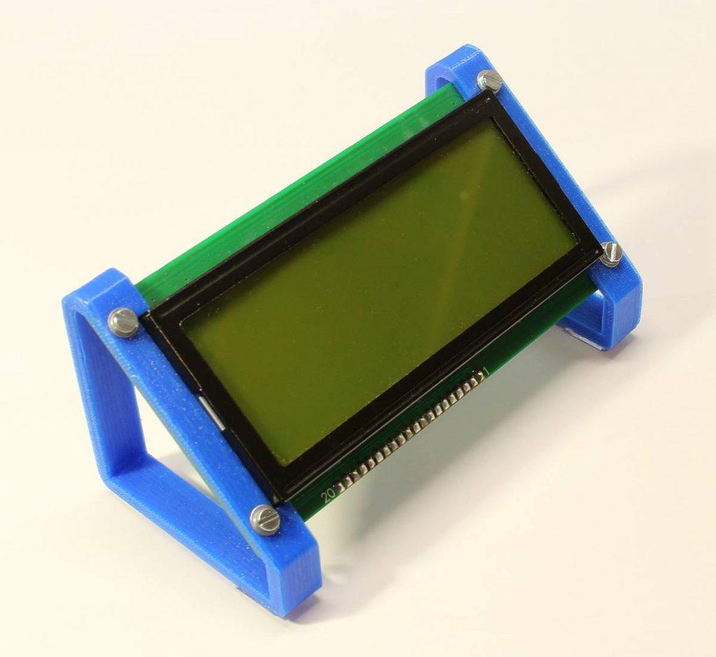 Halter für das Graphik LCD