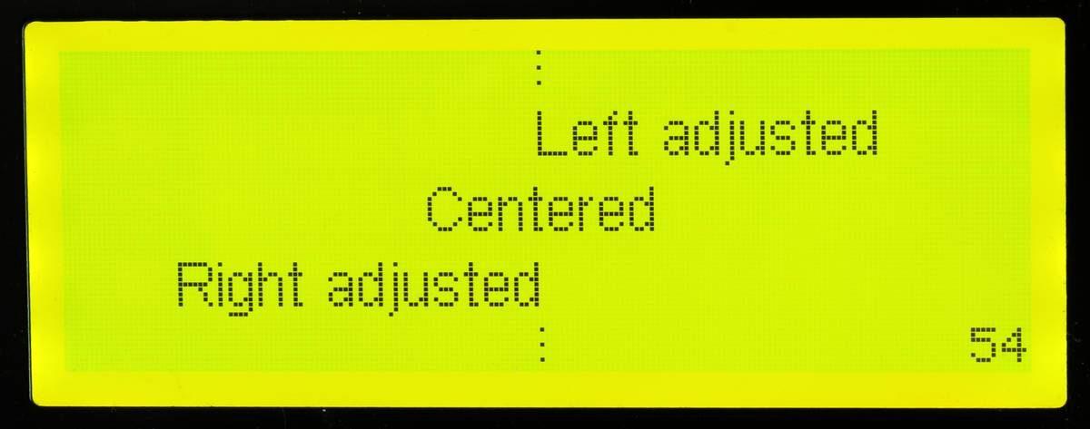 Weitere Text-Funktionen für das Smart I2C Graphic Display
