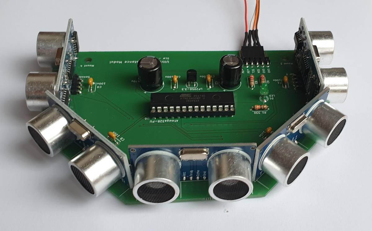 Ultrasonic Modul mit I2C-Interface